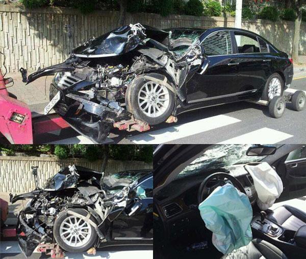 Lee Min Ho Car Accident City Hunter