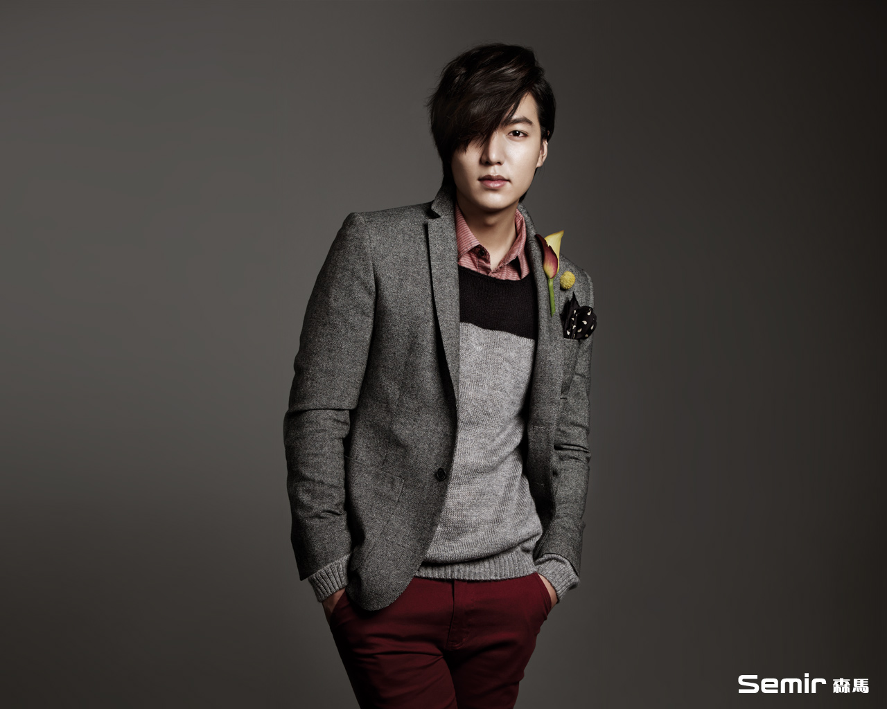 Photo Lee Min Ho Semir England Fashion Collection